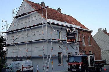 Finish Construct - Travaux de façade à Bruxelles, en Brabant wallon et flamand